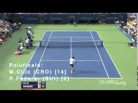 Marin Cilic - Road to First Grand Slam - US OPEN (2014)