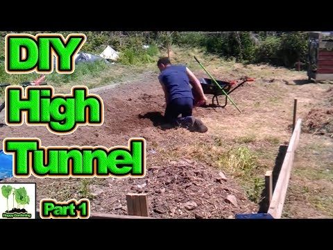 Building The Ultimate Home Made Polytunnel Hoop House