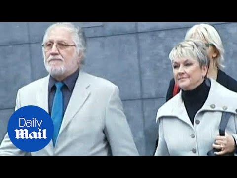 Dave Lee Travis leaves court after conviction of indecent assault - Daily Mail