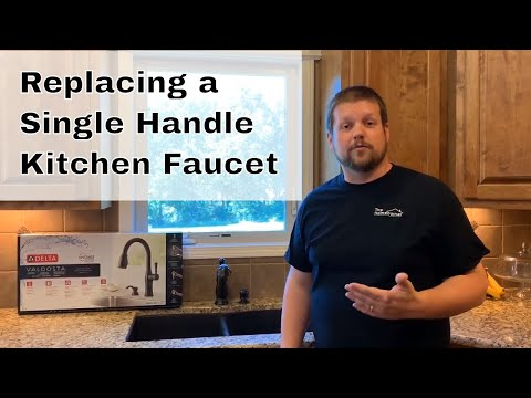 single-handle-kitchen-faucet-replacement-|-how-to