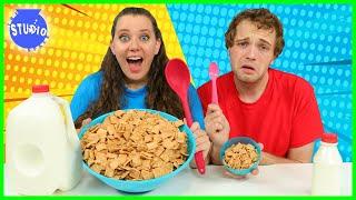 Giant Food Vs  Tiny Food Challenge for 24 Hours!