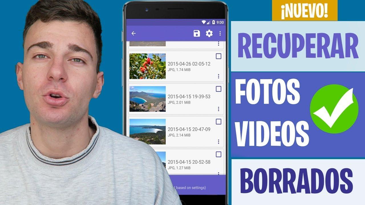 Recuperar Fotos y Vídeos Borrados en Android 2019 | Sin Root y Gratis  #Smartphone #Android