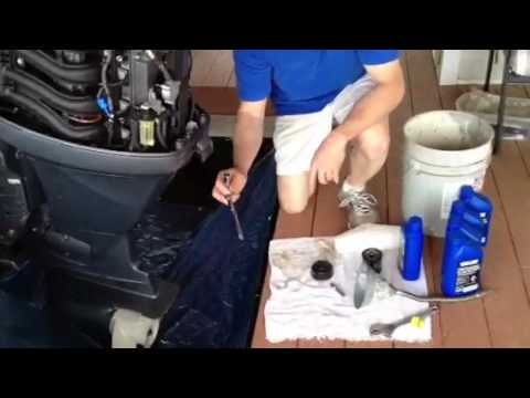 How To Change Oil And Filters  Suzuki Outboard