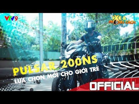 Biker 52 -Hoàng Anh-  [XE và PHONG CÁCH] - KAWASAKI BAJAJ PULSAR 200NS