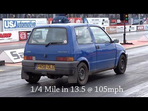 Fiat Seicento 1 4 16v 140hp Kitcar Standing Start Doovi