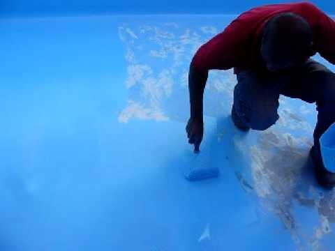Pintura em piscina de fibra de vidro youtube - Piscinas de fibra ...