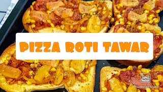 Pizza Roti Tawar Youtube