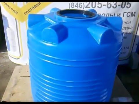 Емкость для полива с циркуляцией воды из пруда - YouTube
