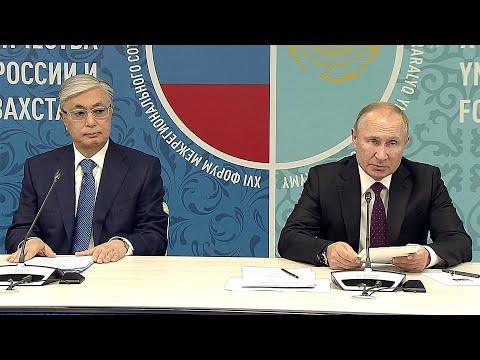 В Омске состоялся форум межрегионального сотрудничества России и Казахстана.