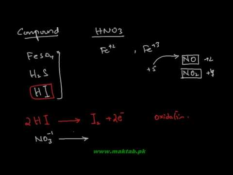 FSc Chemistry Book2, CH 4, LEC 17: Oxidation of Reducing Agents by Nitric Acid (Part 8)