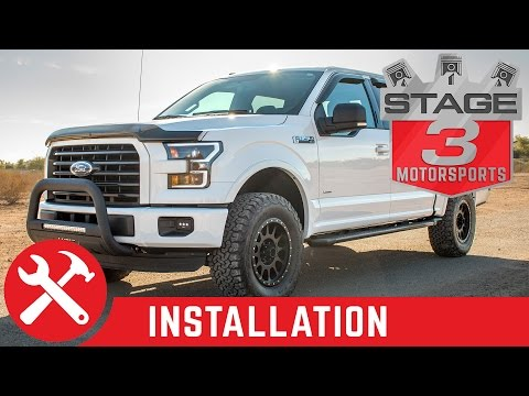 2004-2016 F150 Halo Lifts 2 Inch Leveling Kit Install