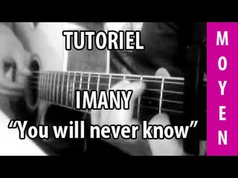 partition guitare imany you will never know