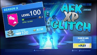 *AFK XP GLITCH* FORTNITE SEASON 10 UNLIMITED XP! How To LEVEL UP FAST in Fortnite - Godmode SEASON X