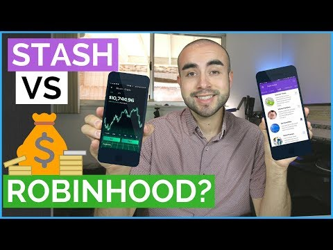 Stash Invest Vs Robinhood App | Best Stock Market Apps For Beginners?