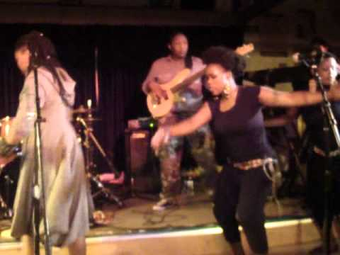 Nkulee Dube (daughter of South Africa's Lucky Dube) performing live at Ashkenaz  - July 23 2011 (2)