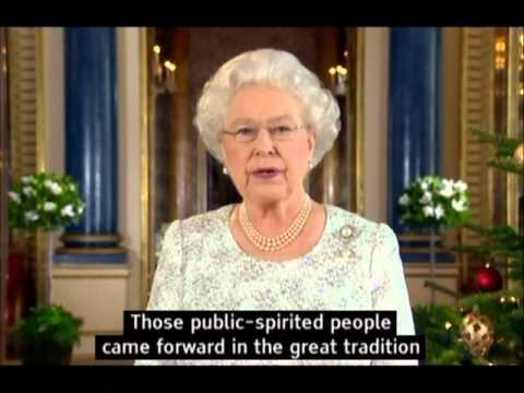 Queen Elizabeth II  Christmas Message 2012 (with subtitles) Elizabeth II speaks to the Commonwealth