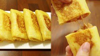 SUB)피자 프렌치 토스트! 오븐이 필요없는 피자빵! …