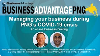 Managing your business during Papua New Guinea's COVID-19 crisis