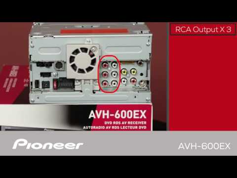 AVH-600EX - What\u0027s in the Box? - YouTube