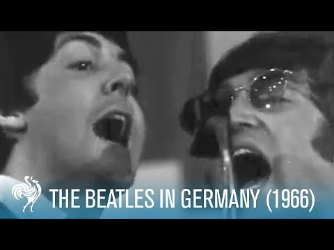 The Beatles in Germany (1966) | British Pathé