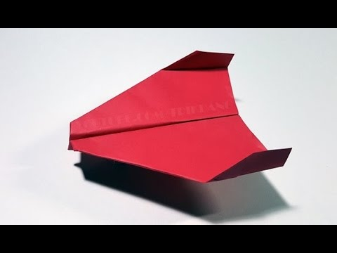 papierflieger selbst basteln papierflugzeug falten beste origami flugzeug sky flyer youtube. Black Bedroom Furniture Sets. Home Design Ideas