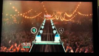 "GUITAR HERO LIVE - ""When You Were Young"" by The Killers 1st Ever 100% Expert Guitar FC"