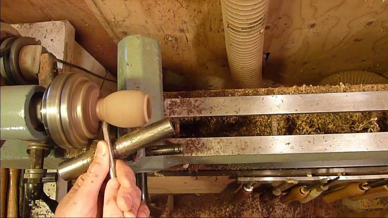 Woodturning Projects Turning A Miniature Birdhouse On The Lathe 1 Of