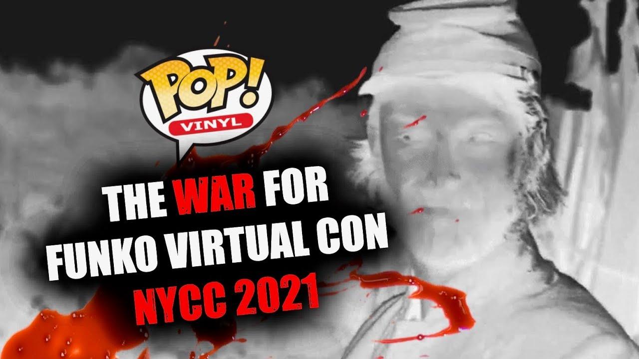 Funko Virtual Con NYCC 2021 - Drop Day 😫