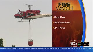 6th Firefighter Injured As Bear Fire Continues In Santa Cruz Mountains