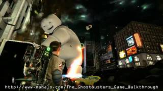 The Ghostbusters Game Walkthrough - Mission 2: Times Square Part 4
