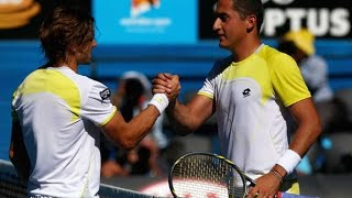 David Ferrer VS Nicolas Almagro Highlight Australian Open 2013 QF
