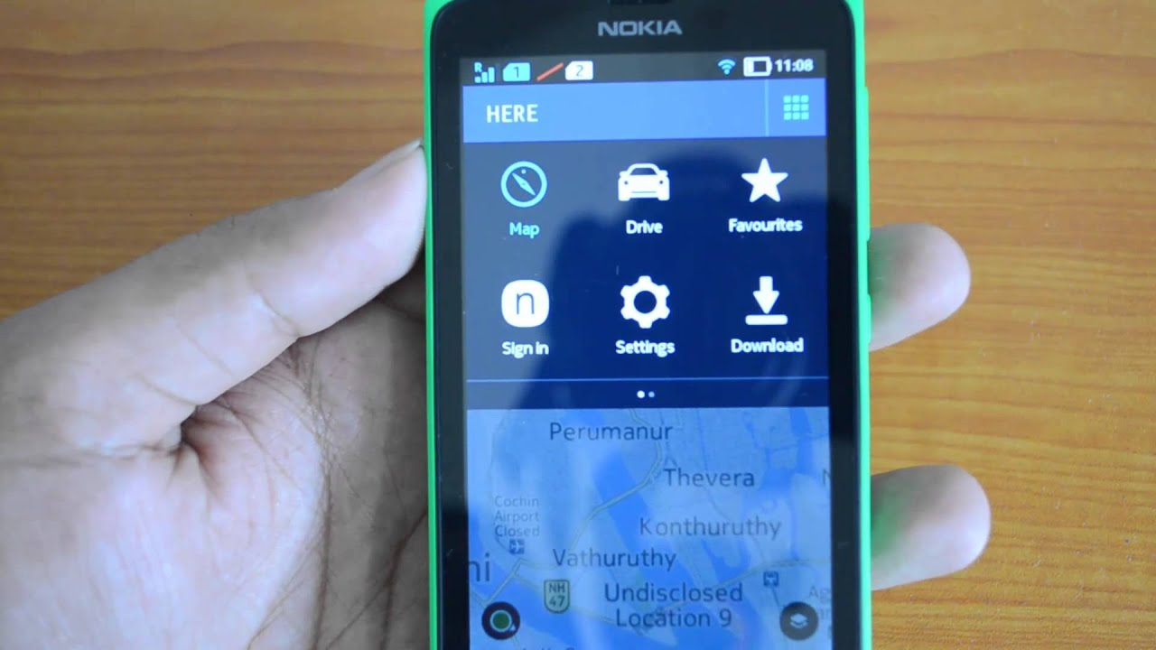 Here maps on nokia x features and overview youtube here maps on nokia x features and overview gumiabroncs Choice Image