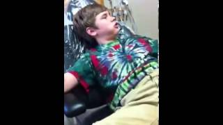 Funniest dentist trip ever! Laughing gas