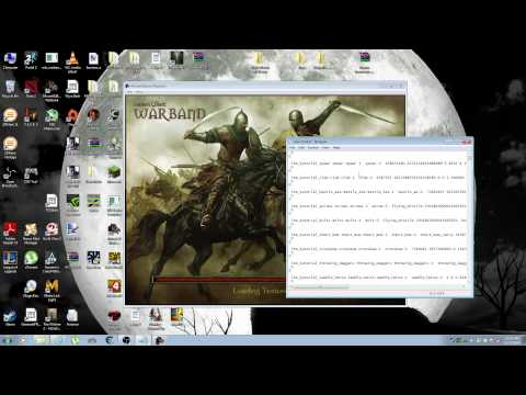 Mount and Blade WarBand how to edit item and troop stats ( cheat
