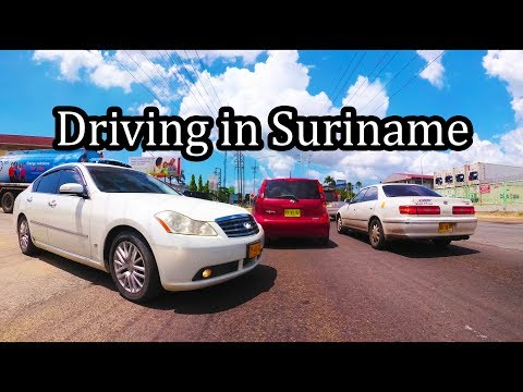 2017 - Driving in Suriname - Going to Paramaribo (2/2) - Sept 2017