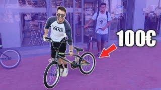 COMPRO UNA BMX DE 100€ Y COMPITO CON ELLA!