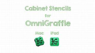 OmniGraffle Cabinet Stencil