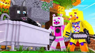 Twisted Wolf Makes Funtime Freddy LOSE !! | Minecraft FNAF Roleplay