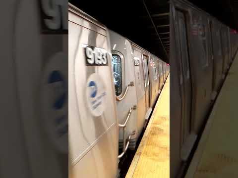 95th Street Bound R46 R train Coney Island Bound R160A N ...