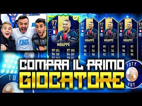 MBAPPÉ TOTY!!!!!!!!! COMPRA IL PRIMO GIOCATORE w/Ohm & Enry Lazza | FIFA 19 ITA