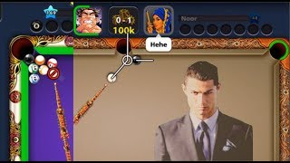 8 ball pool | impossible situation | what to do ?