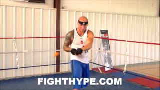 ARTUR SZPILKA SHOWS OFF CRAZY ACCURATE HANDS WITH ELASTIC HEAD BALL TRAINING TECHNIQUE
