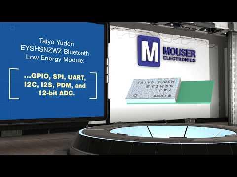 Taiyo Yuden BT Modules | New Product Brief