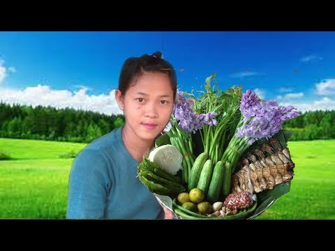 Awesome Cooking Dry Fish With Vegetable Delicious Recipe – Cook Fish Recipes – Village Food Factoy