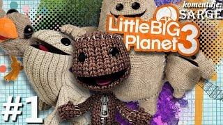 Zagrajmy w Little Big Planet 3 [PS4] odc. 1 - Nowe przygody Sackboya
