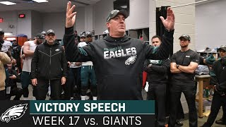 """""""You're in the Tournament; Anything Can Happen"""" Week 17 Victory Speech 