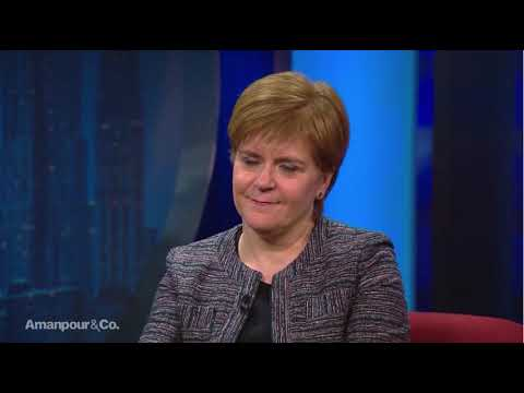 FM Nicola Sturgeon on PBS