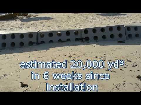 Sandsaver Beach Erosion Solution Install Swahili Beach Resort Diani Beach, Kenya- Part 2 (6 Wks  )