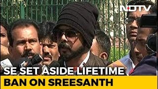 Top Court Ends Life Ban On Sreesanth, Asks BCCI To Reconsider Punishment