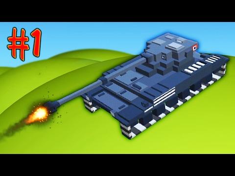 БИТВА ТАНКОВ [1] Игровой мультик про танчики Война танков Игра на Андройд War Boxes Strike